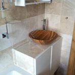 Examples of our bathroom installations