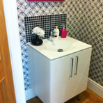 Cloakroom and small bathroom installations